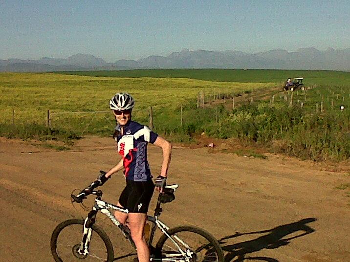 Mtb ride with Pierre along Spes Bona